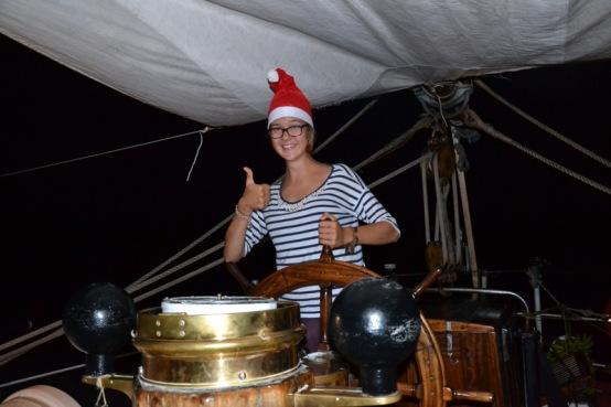 Weihnachten auf See ...