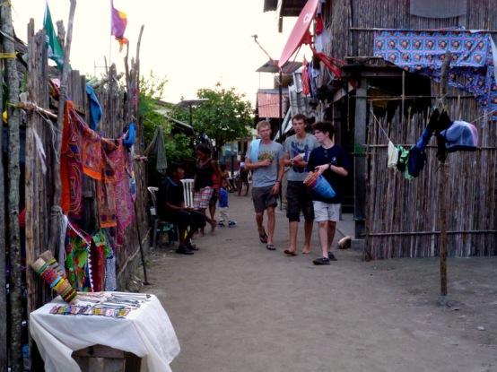 Auf den Inseln des Kuna Yala ...