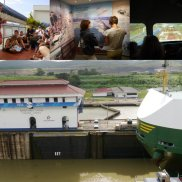 Am Sonntag ging es dann zum Panamakanal ...