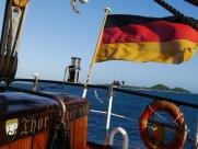 ... allerdings nicht unter spanischer Flagge