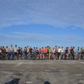 ...und los geht`s mit den Fahrrädern durch Kuba!