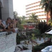 Die Cienfuegosgruppe genoss die Ruhe sowohl im Casa,...